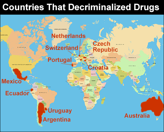 10 Countries That Ended Their War on Drugs