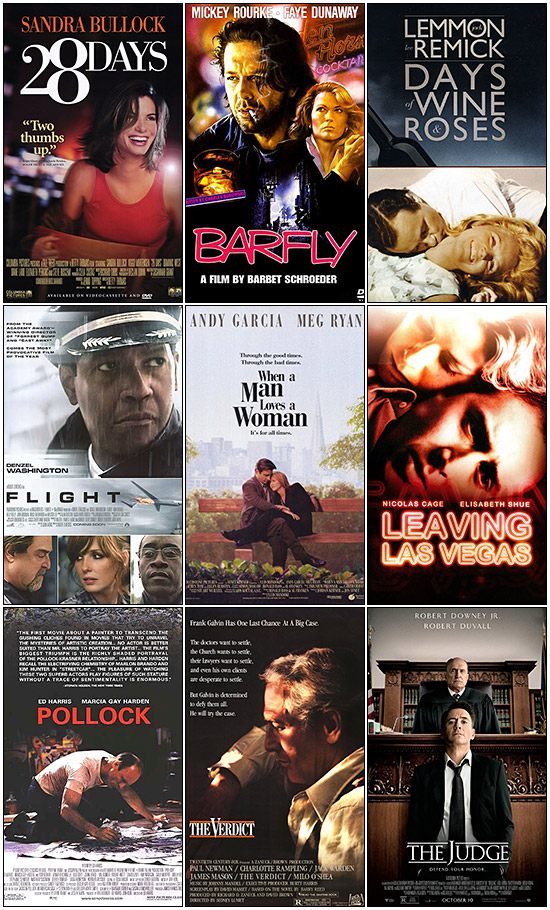 Films About Alcoholism and Alcohol Abuse