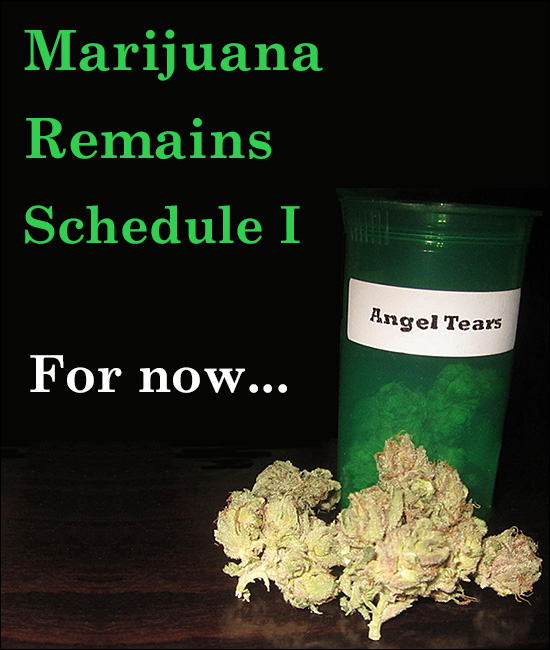 Marijuana Remains Schedule I, For Now Anyway