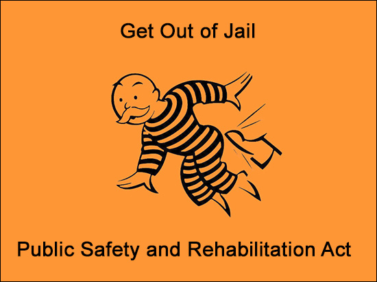 Non-violent Prison Release - Public Safety and Rehabilitation Act of 2016