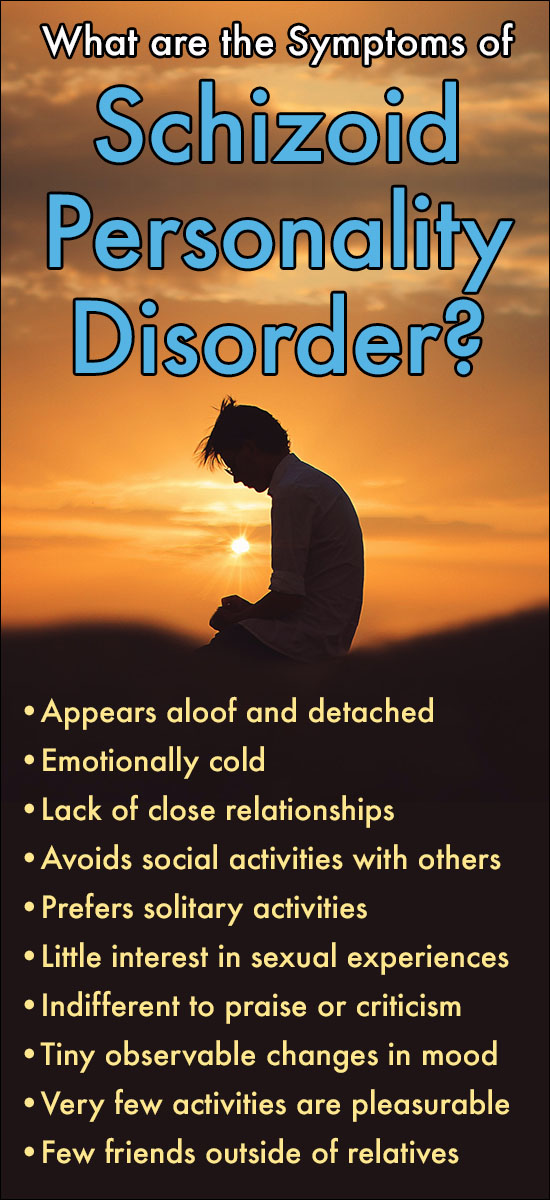 What are the Symptoms of Schizoid Personality Disorder?